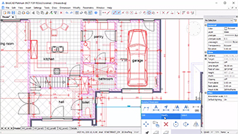 BricsCAD 2D drafting