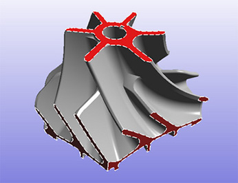 REDsdk multiple cutting planes screenshot