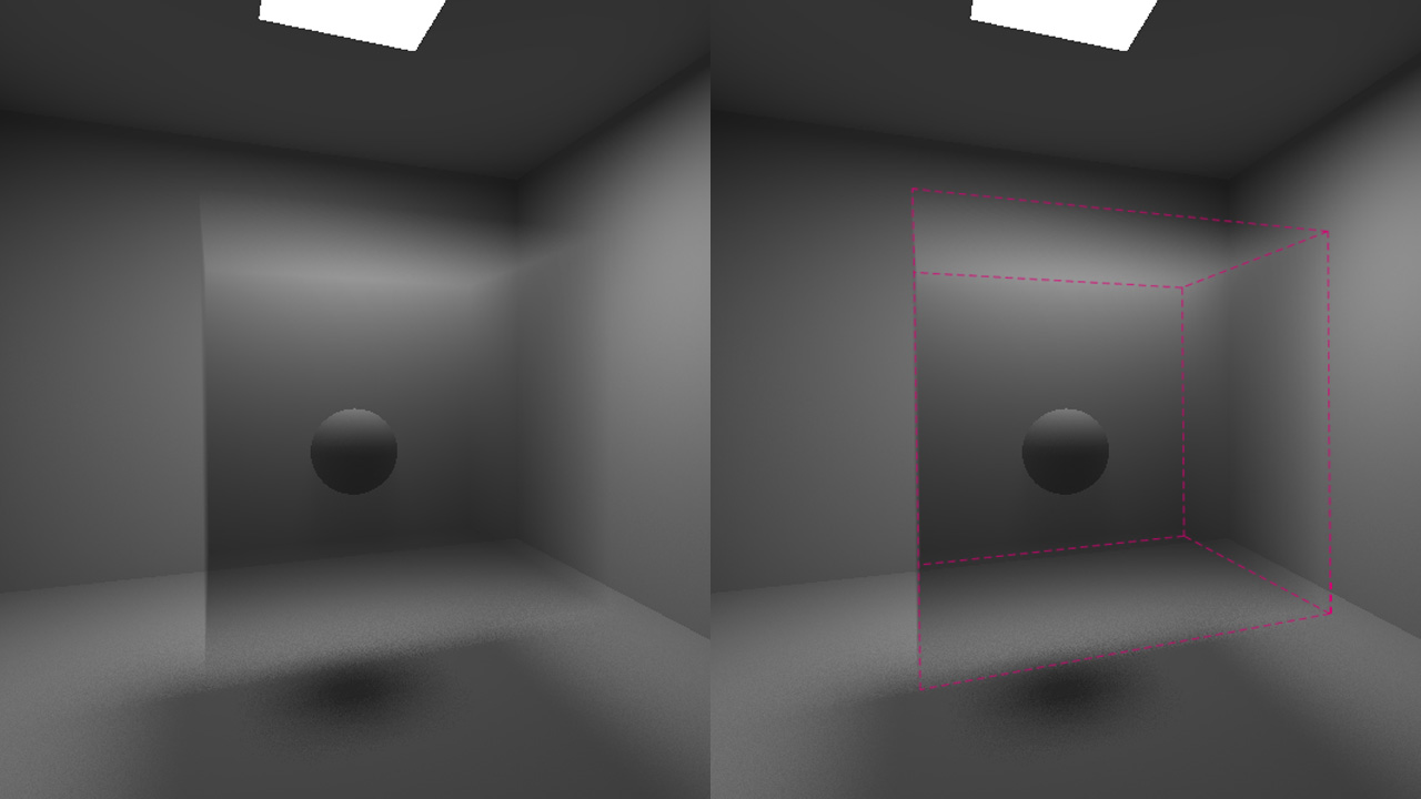 REDsdk - Volumetric effects
