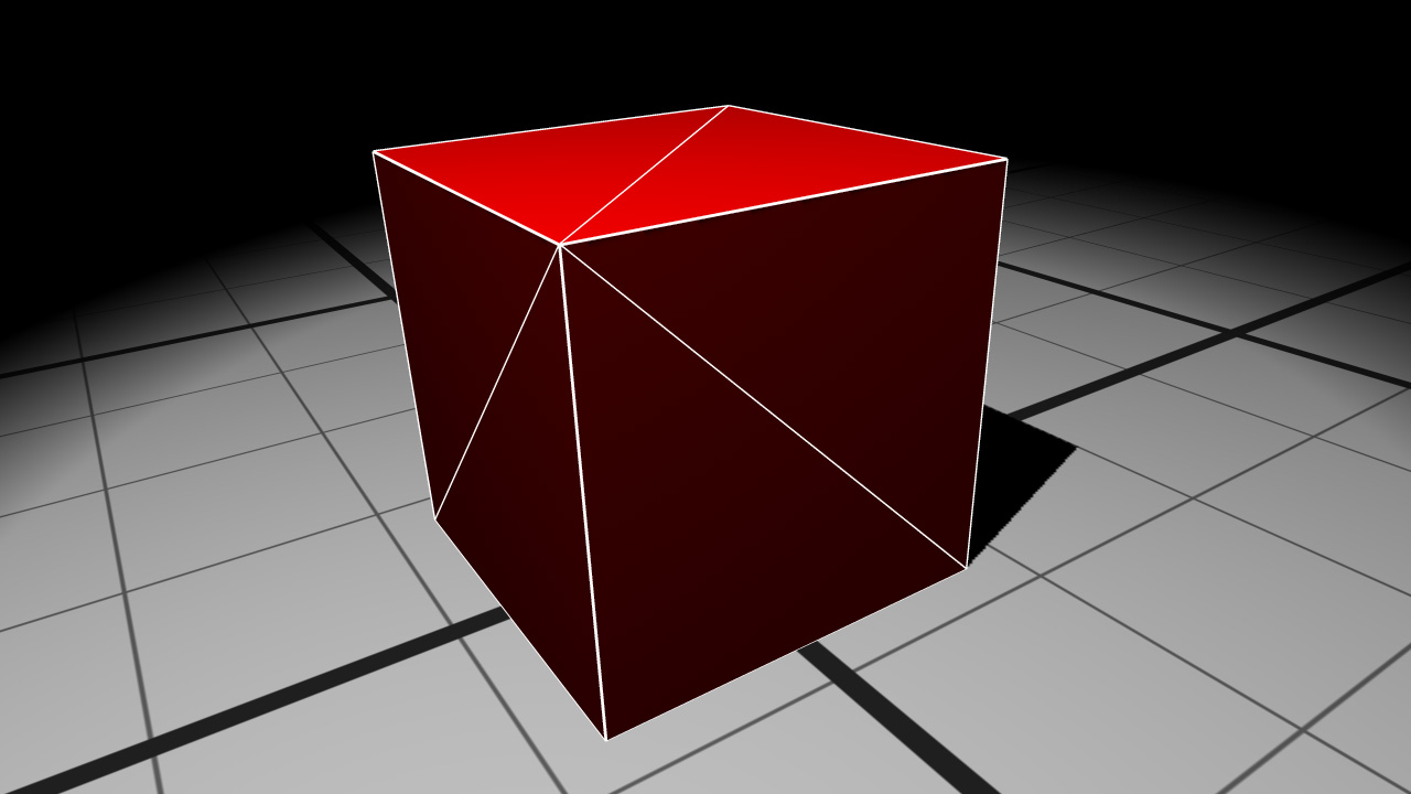 REDsdk - Applying polygon offset to see edges of a geometry