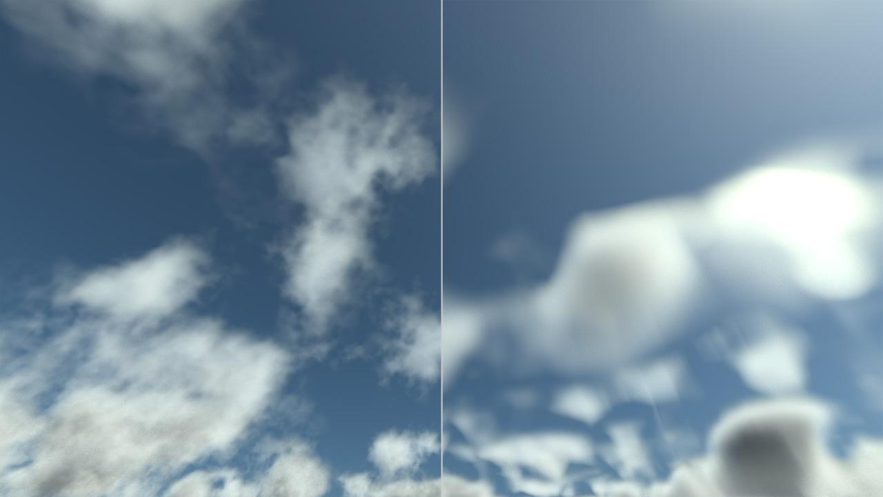 REDsdk - Rendering volumetric clouds